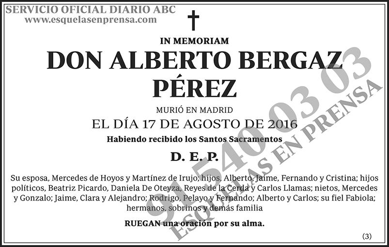 Alberto Bergaz Pérez